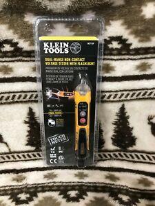 KLEIN TOOLS NCVT-3P Non Contact Flashlight Dual Range Electrical Meter SEALED!