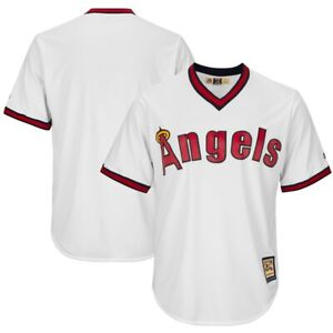 MLB Baseball Jersey Los Angeles Angels California Cooperstown cool base Jersey