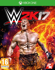 WWE 2K17 (Wrestling 2017) XBOX ONE IT IMPORT TAKE TWO INTERACTIVE