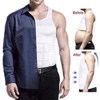 Men Slimming Body Shaper Chest Compression Shirt Gynecomastia Abdomen Slim Vests