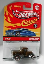 2009 Hot Wheels Classics Series 5 #18 of 30 '29 Ford Pickup Brown Sp5rl