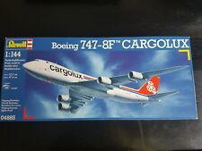 Revell 1/144 Boeing 747-8F Cargolux Plane Great Condition Very Rare