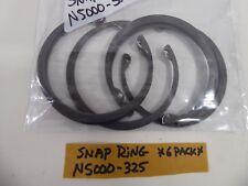 Snap Ring N5000-325 Retaining Ring (Pack of 6)