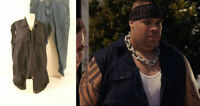 No One Lives Ethan (Brodus Clay) Hero Movie Costume Work Shirt & Pants