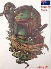 Miltiary War Army Green Armor King Tattoo Sticker Temporary Body Art Waterproof