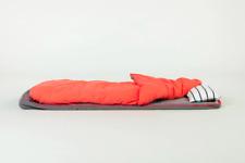 BUNDLEBEDS Bedding Bundle Sheets (Fiery Orange & Grey)