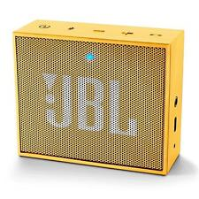 JBL GO Compact Portable Bluetooth Speaker - Rechargeable - New - YELLOW