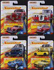 2019 Matchbox Superfast 50th Wave A - 4 Vehicles / VW / Honda / Mercedes / MOC