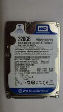 Western Digital WD3200BPVT Scorpio Blue 320GB 2,5 Zoll 5400 U/min Smart Prot.