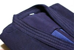 Indigo Double Layer Kendo Gi Top (Height 185cm~200cm size available)