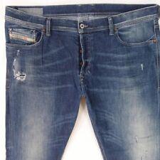 Mens Diesel TEPPHAR 0833F Stretch Slim Blue Jeans W40 L30