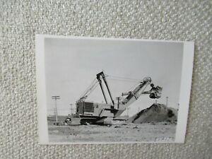 "Manitowoc 4500 shovel crane stock PHOTO 5x3.5"""