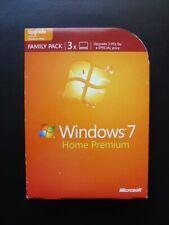 Microsoft Windows 7 Home Premium UPGRADE 3 USER 32/64-bit DVD