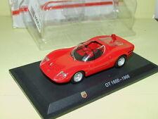 ABARTH OT 1600 Rouge 1966 HACHETTE sous blister