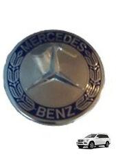 Set Von 4 Mercedes AMG Orig. Blau Abzeichen Rad Zentrum Kappen Für Alle Gl & GLK