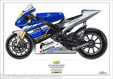 Valentino Rossi 2013 Yamaha YZR M1