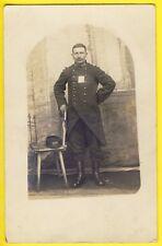 cpa Carte Photo Souvenir de CAPTIVITÉ WISSEN SOLDAT du 102e Régiment PRISONNIER