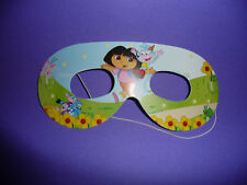 DORA THE EXPLORER BIRTHDAY PARTY EYE MASKS PK8 NEW!