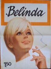 BELINDA CIGARETTES Vintage 1968 advertising Dutch poster A0 33x46 RARE
