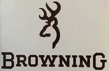Browning Gun Firearm Decal Sticker Outdoor Quality Colour Choice Buy2 Get 1 Free