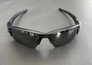 Oakley Matte Black, Prizm Polarized Lenses Sunglasses - Black