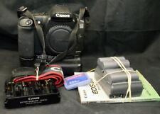 Canon EOS 20D 8.2MP Digital SLR Black Camera Body with BG-E2 Battery Grip