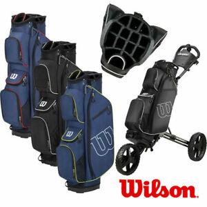 Wilson ProStaff 14-WAY Trolley/Cart Golf Bag 3.2lbs - NEW! 2021-3 colours