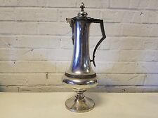 "Antique 16"" Quad Silver Plated Meriden Britannia B. Company Pot/Pitcher/Jug"
