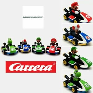 MarioKart Pull Back Cars - Toy Speed Race Car - Mario Lugi Toad Yoshi Go-Kart