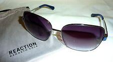 Kenneth Cole Reaction KC2734 Women's Sunglasses Sz 60 15 135 08B SILVER-TONE NEW