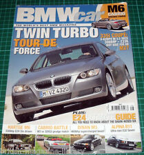 BMW Car 2006 E46 M3 vs 320Cd Hartge E24 M6 Dinan S3-R 315 Special Alpina E32 B11
