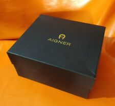 AIGNER BIG LACQUED WOOD -  VINTAGE WATCH BOX -OFFERS ARE WELCOME !