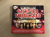 The Ultimate Movies and Musicals Experience.  Cd