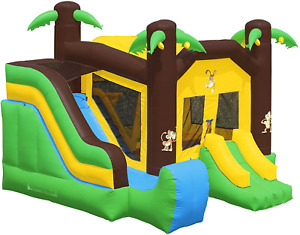 Cloud 9 Commercial Grade Bounce House 100% Pvc Jungle Slide Inflatable Only