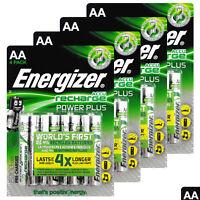 16 x Energizer AA Power Plus 2000 mAh Rechargeable batteries 1.2V NiMh Accu HR6