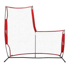 Woodworm Portable Pop-Up V2 Baseball Pitching L-Screen Net and Frame