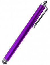 Purple stylus for apple iphone ipad and touch tablets