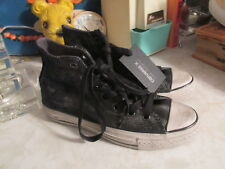 Converse John Varvatos Chuck Taylor Sneakers Painted Shine Black/silver 150175C