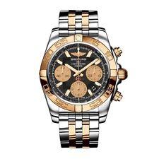 Breitling Chronomat 41 Watch Chrono Stainless Steel & Rose Gold CB014012/BA53-TT
