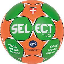SELECT Handball Future Soft  Grün/Orange Größe 1