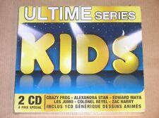 BOITIER 2 CD RARE / ULTIME SERIES KIDS / NEUF SOUS CELLO