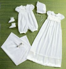 Butterick 6045 sewing pattern pour rendre baptême robe barboteuse Chaussons Couverture
