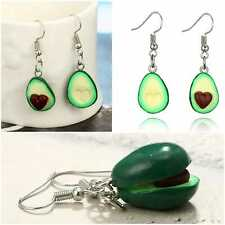 Avocado Earrings Ear Ring Women Jewellery Merlot Rose White Fashion Novelty