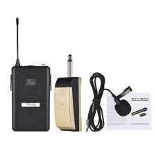 Muslady UHF Wireless Microphone Mic System with Receiver Transmitter J9I8