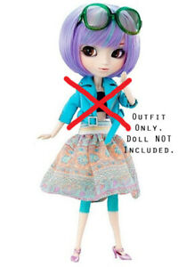 PULLIP DOLL CELSIY FULL STOCK OUTFIT SUNGLASSES CLOTHING NEW DETERIORATED JACKET