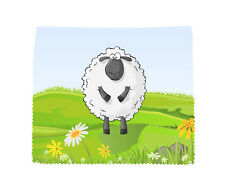 Sheep Microfibre Glasses Lens Screen Cleaning Cloth Novelty Mobile Smart Phone