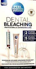 Perl Weiss Dental Bleaching professionelle Zahnaufhellung 1 Set Zahnweiss
