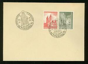 Luxembourg B07 FDC 1953 2v Palace Church Basilica CV 65 eur