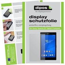 2x Dipos Sony Xperia Z3 tableta Compact protector de pantalla mate Antirreflejo
