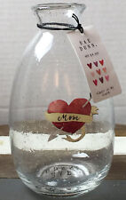 Rae Dunn Mother's Day Collection ~ Mom Always In My Heart Painted Flower Vase